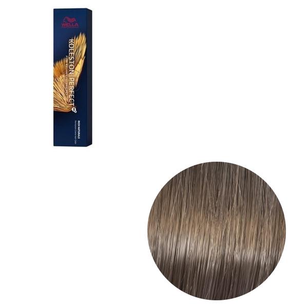 Vopsea de par permanenta Wella Professionals Koleston Perfect Me+ 7/18 , Blond Mediu Cenusiu Albastrui, 60 ml 0