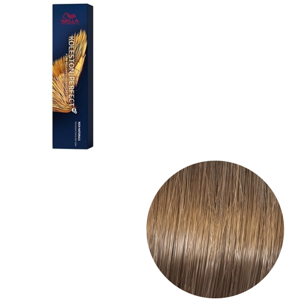 Vopsea de par permanenta Wella Professionals Koleston Perfect Me+ 7/31 , Blond Mediu Auriu Cenusiu, 60 ml 0