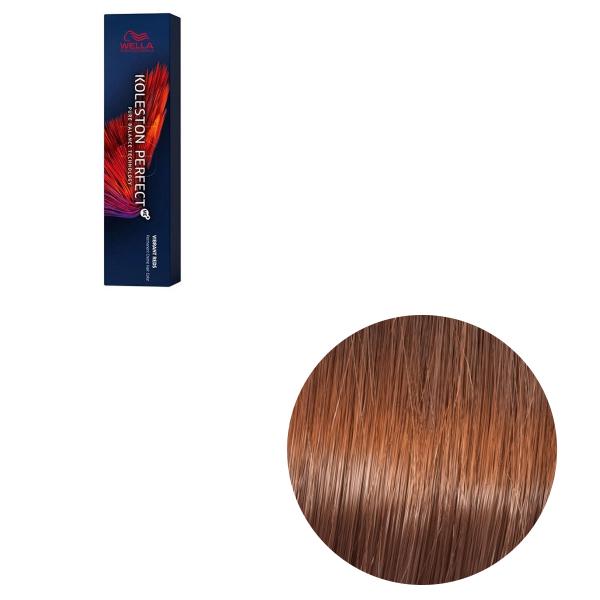 Vopsea de par permanenta Wella Professionals Koleston Perfect Me+ 7/43 , Blond Mediu Rosu Auriu, 60 ml [0]