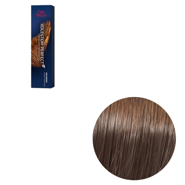 Vopsea de par permanenta Wella Professionals Koleston Perfect Me+ 7/77 , Blond Mediu Castaniu Intens, 60 ml 0