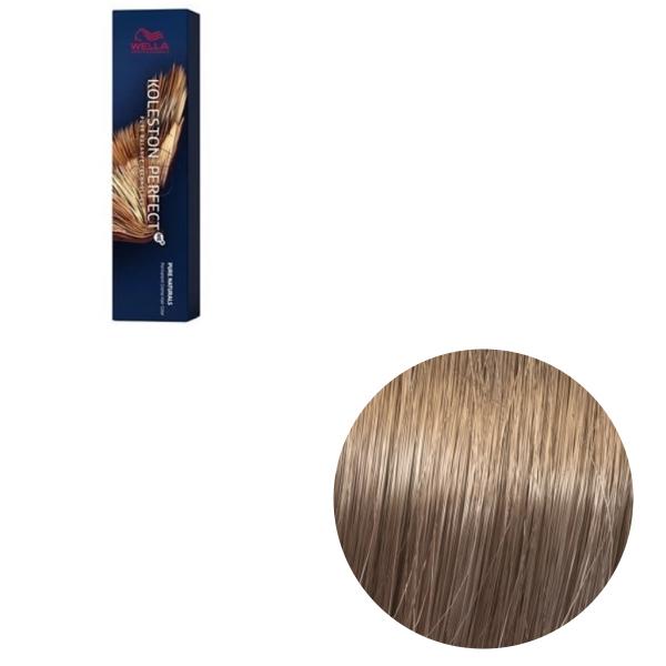 Vopsea de par permanenta Wella Professionals Koleston Perfect Me+ 8/01 , Blond Deschis Natural Cenusiu, 60 ml 0