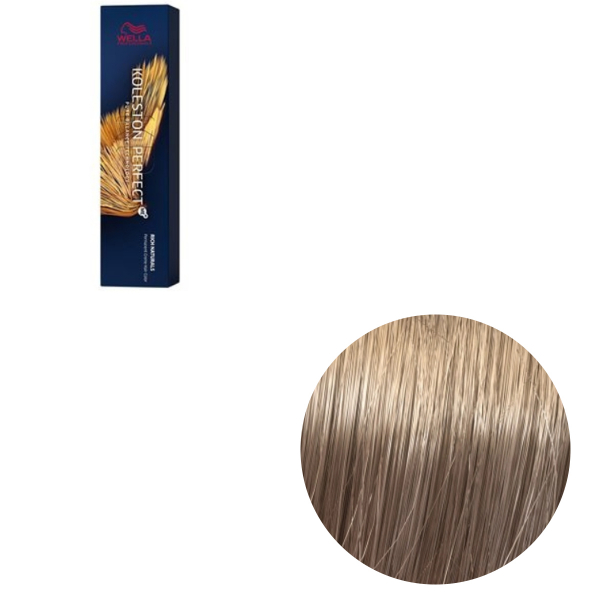 Vopsea de par permanenta Wella Professionals Koleston Perfect Me+ 8/1 , Blond Deschis Cenusiu, 60 ml 0