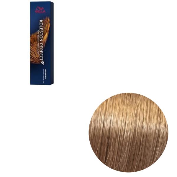 Vopsea de par permanenta Wella Professionals Koleston Perfect Me+ 8/73 , Blond Deschis Castaniu Auriu, 60 ml 0