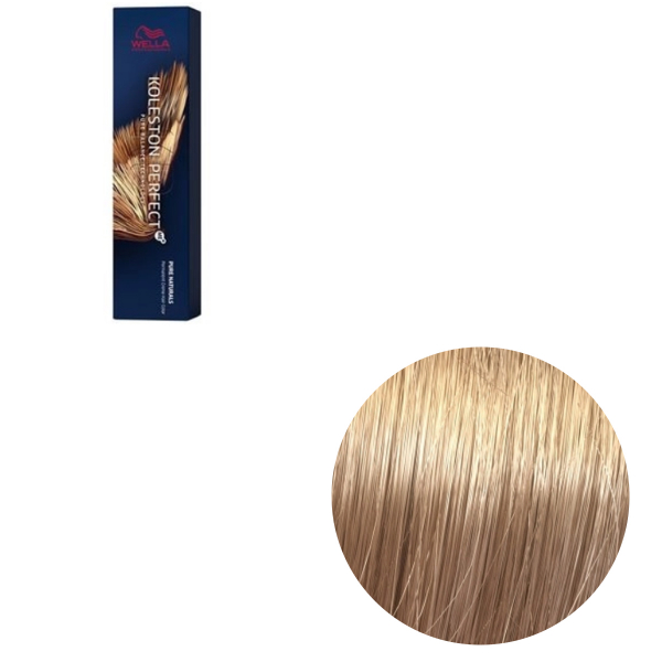 Vopsea de par permanenta Wella Professionals Koleston Perfect Me+ 9/0 , Blond Luminos Natural, 60 ml 0
