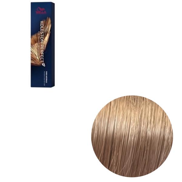 Vopsea de par permanenta Wella Professionals Koleston Perfect Me+ 9/03 , Blond Luminos Natural Auriu, 60 ml 0