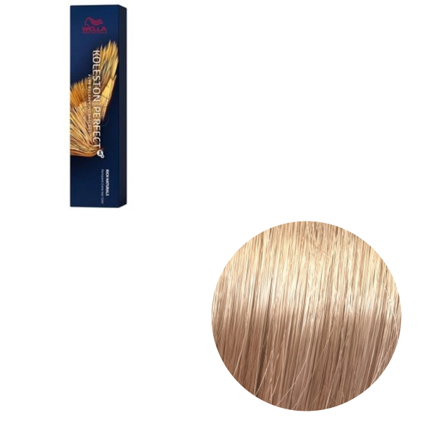 Vopsea de par permanenta Wella Professionals Koleston Perfect Me+ 9/38 , Blond Luminos Auriu Albastrui, 60 ml 0