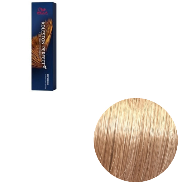 Vopsea de par permanenta Wella Professionals Koleston Perfect Me+ 9/7 , Blond Luminos Castaniu, 60 ml 0