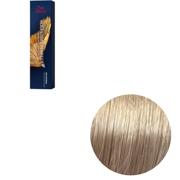 Vopsea de par permanenta Wella Professionals Koleston Perfect Me+ 9/81 , Blond Luminos Albastrui Cenusiu, 60 ml [0]