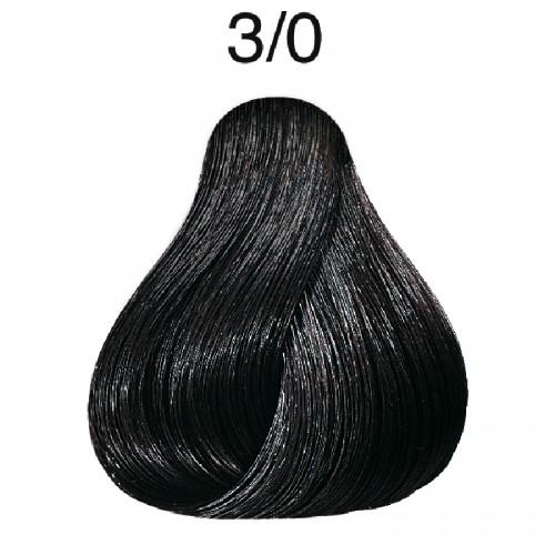 Vopsea de par semi-permanenta Wella Professionals Color Touch 3/0, Castaniu Inchis, 60 ml [0]