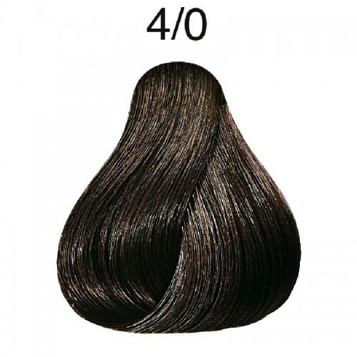Vopsea de par semi-permanenta Wella Professionals Color Touch 4/0, Castaniu Mediu, 60 ml 0
