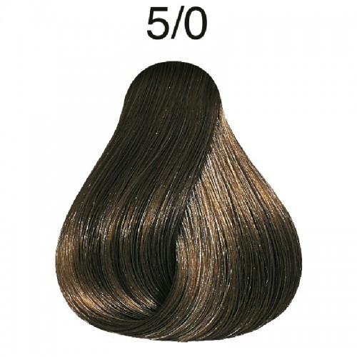 Vopsea de par semi-permanenta Wella Professionals Color Touch 5/0, Castaniu Deschis, 60 ml 0