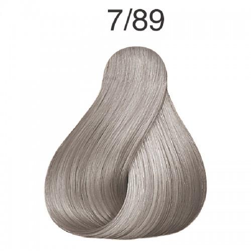 Vopsea de par semi-permanenta Wella Professionals Color Touch 7/89, Blond Mediu Albastrui Perlat, 60 ml 0