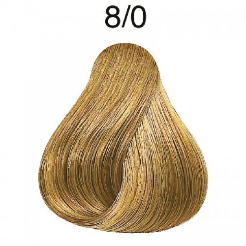 Vopsea de par semi-permanenta Wella Professionals Color Touch 8/0, Blond Deschis, 60 ml [0]