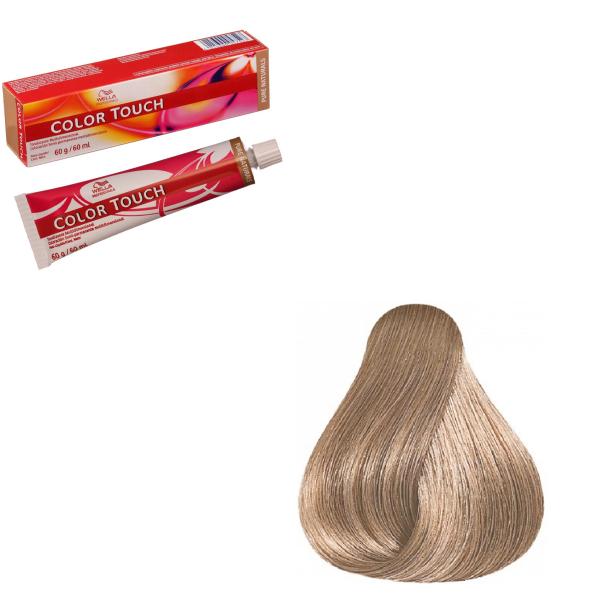Vopsea de par semi-permanenta Wella Professionals Color Touch 9/16, Blond Luminos Cenusiu Violet, 60 ml 0