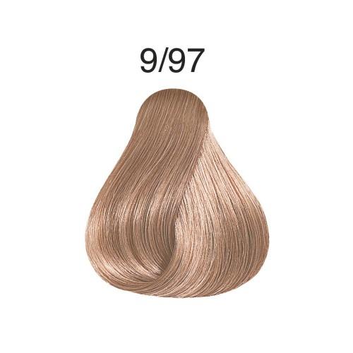 Vopsea de par semi-permanenta Wella Professionals Color Touch 9/97, Blond Luminos Perlat Castaniu, 60 ml 0
