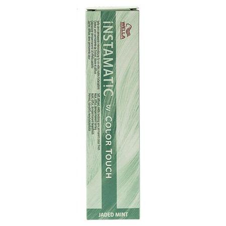 Vopsea de par semi-permanenta Wella Professionals Color Touch Instamatic Jaded Mint, 60 ml 1