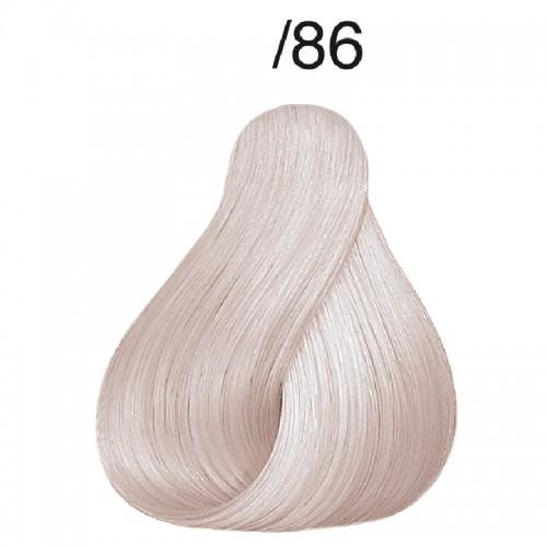 Vopsea de par semi-permanenta Wella Professionals Color Touch Relights Blond /86, Perlat Violet, 60 ml 0