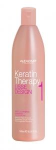 Sampon pentru curatare in profunzime  Alfaparf Lisse Design Kt Deep Cl Shampoo ,500 ml