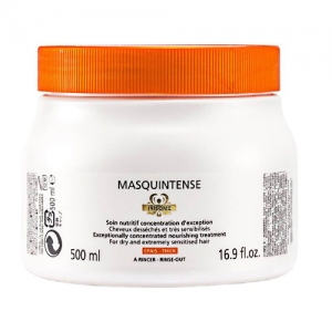Masca pentru par cu fir gros Kerastase Nutritive Irisome Masquintense Cheveux Epais, 500 ml [0]