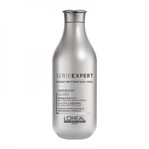 Sampon pentru par grizonat sau alb L`Oreal Professionnel Serie Expert Silver, 300ml