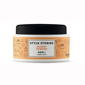 Ceara de par pentru stralucire Alfaparf Style Stories Glossy Pomade, 100 ml1