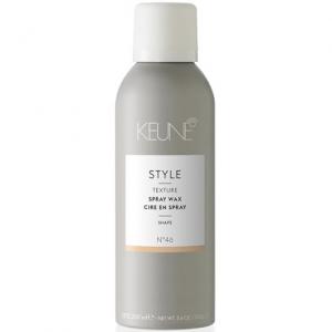 Ceara ultra fina cu pulverizare pentru texturi lejere si coafura definita Keune Style Spray Wax, 200 ml1