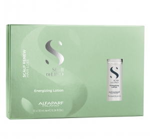 Fiole tratament anti-caderea parului Alfaparf Semi di Lino Scalp Renew Energizing, 12x10 ml