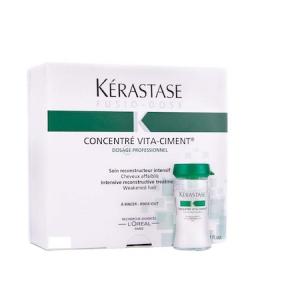 Fiole tratament pentru par degradat Kerastase Fusio-Dose Concentre Vita Ciment, 10 * 12 ml