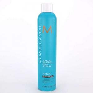 Fixativ foarte puternic pentru par Moroccanoil Luminous Spray Extra Strong, 330 ml0