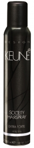 KEUNE Society Hairspray - Lac fixativ extra forte, 300 ml0