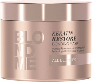 Masca pentru par blond Schwarzkopf Blonde Me Restore Blonding Mask, 200 ml1