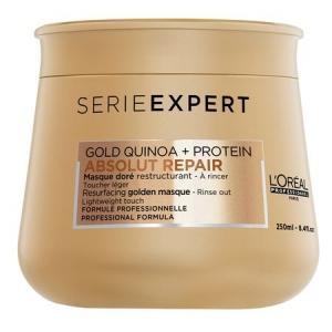 Masca pentru par foarte degradat L`Oreal Professionnel Serie Expert Absolut Repair Gold, 250 ml