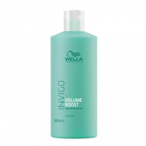 Masca pentru par subtire, fara volum Wella Professionals Invigo Volume Boost Clear Treatment, 500 ml2