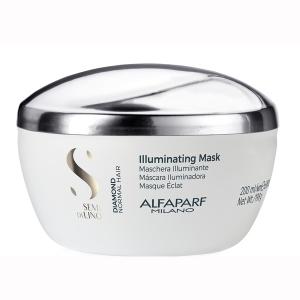 Masca pentru stralucire fara sulfati Alfaparf Semi di Lino Diamond Illuminating Mask, 200 ml
