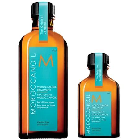 Moroccanoil On the Go Duo Light, set cadou pentru par cu fir subtire/fara volum, deschis la culoare, Ulei tratament Light 100 ml + 25 ml [1]