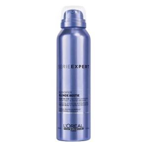 Spray iluminator pentru fixarea culorii pentru par blond L`Oreal Professionnel Serie Expert Blondifier Blonde Bestie, 150 ml