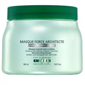 Masca pentru par degradat Kerastase Resistance Masque Force Architecte, 500 ml