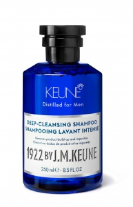 Sampon barbati profund degresant Keune 1922 Deep-Cleansing Shampoo, 250 ml