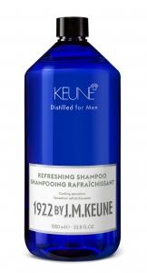 Sampon barbati revigorant Keune 1922 Refreshing Shampoo, 1000 ml