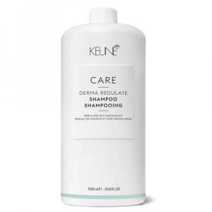 Sampon cu Bio-Sulfura pentru par gras si scalp Keune Care Derma Regulate, 1000 ml