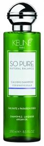 Sampon cu efect calmant pentru scalp sensibil Keune So Pure Calming, 250ml [1]