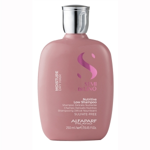 Sampon pentru hidratare fara sulfati Alfaparf Semi di Lino Moisture Nutritive Shampoo, 250 ml