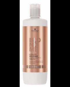 Sampon pentru par blond Schwarzkopf Blonde Me Restore Bonding Shampoo, 1000 ml1