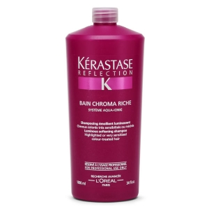 Sampon pentru par colorat si sensibilizat Kerastase Reflection Chromatique Riche Bain, 1000 ml1