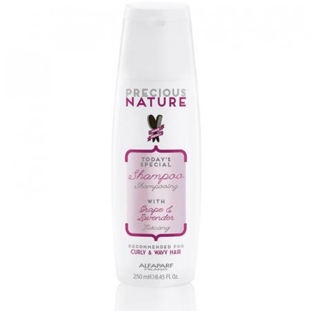 Sampon pentru par cret/ondulat Alfaparf Precious Nature Curly & Wavy Hair Shampoo, 250 ml