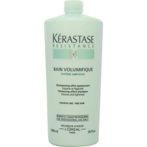 Sampon pentru par cu fir subtire/fara volum Kerastase Resistence Bain Volumifique, 1000 ml1