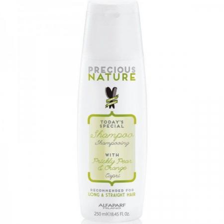Sampon pentru par drept Alfaparf Precious Nature Long & Straight Hair Shampoo, 250 ml