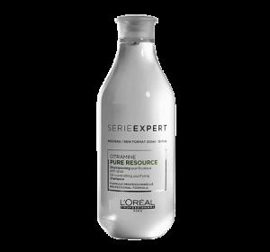 Sampon pentru par normal si gras L`Oreal Professionnel Serie Expert Pure Resource, 300 ml
