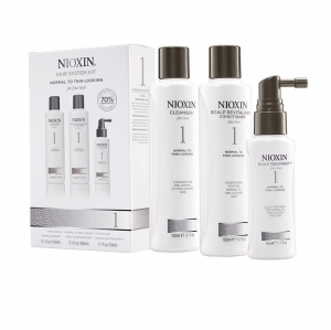 Set impotriva caderii parului Nioxin System 1, 150+150+50ml1