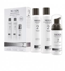 Set impotriva caderii parului Nioxin System 2, 150+150+40ml0